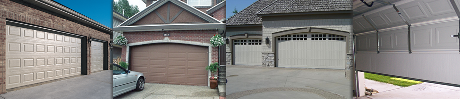 Installation of new garage doors in Toronto.